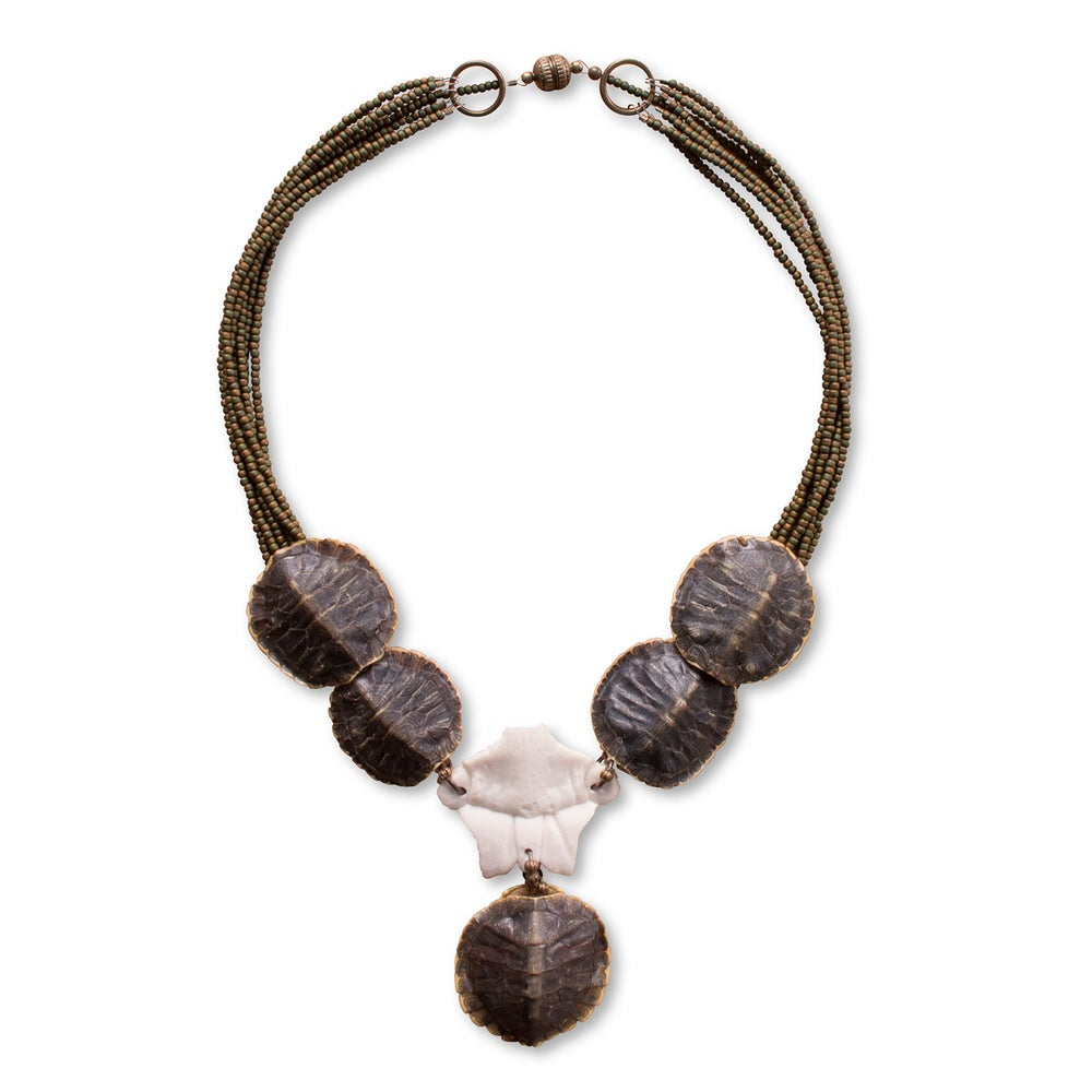 Image of Turtle Shell Necklace