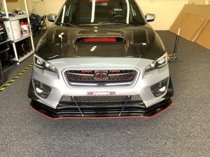"Image of 15+ Subaru WRX/STI ""v1"" front splitter"