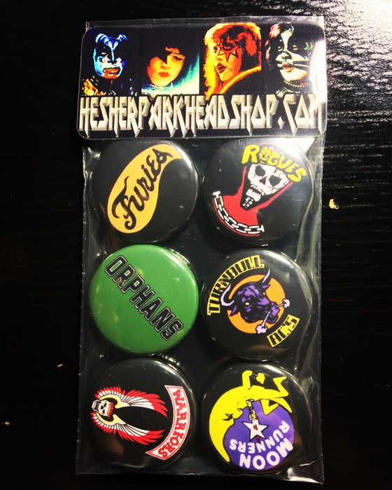 Image of WARRIORS BUTTON SET