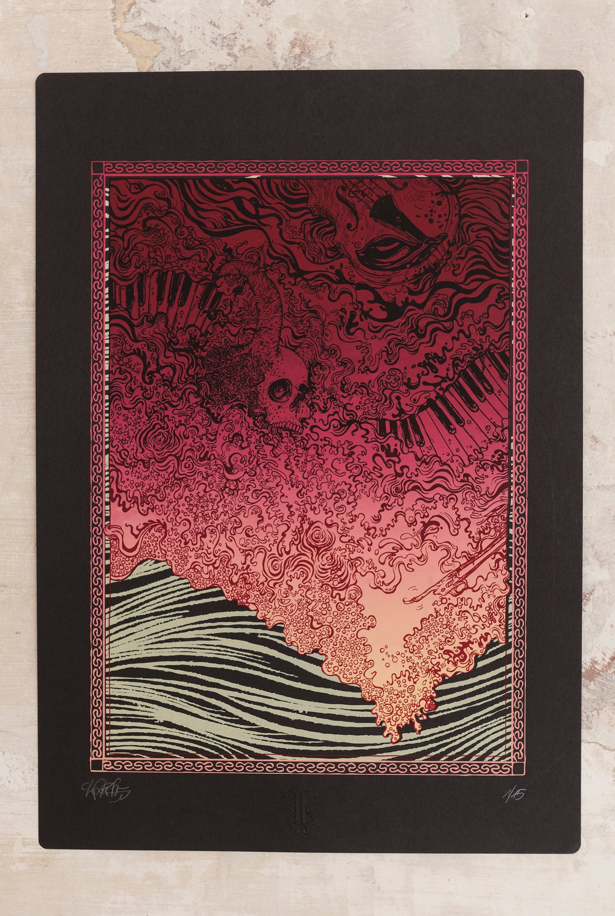 "Image of ""RED SEA"" ArtPrint"