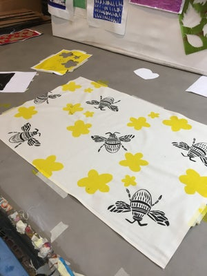 Image of Beginners Level - Screen Printing on to fabric - Upcoming Classes