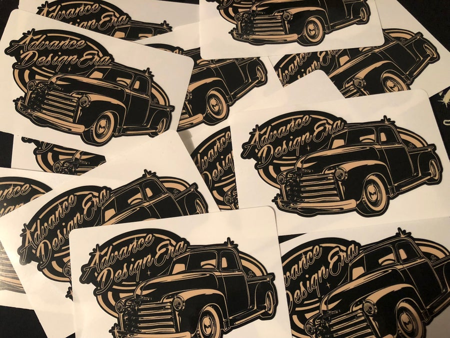 Image of Old School Printed Decals