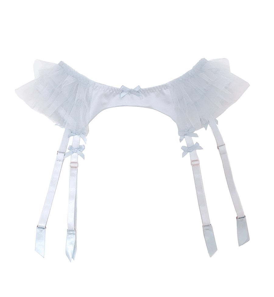 Image of Bubble Suspender - Blue