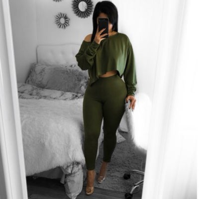Image of Chill set Olive
