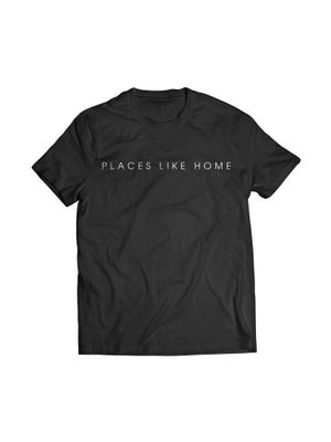 """Image of """"PLACES LIKE HOME"""" Tee (Black)"""