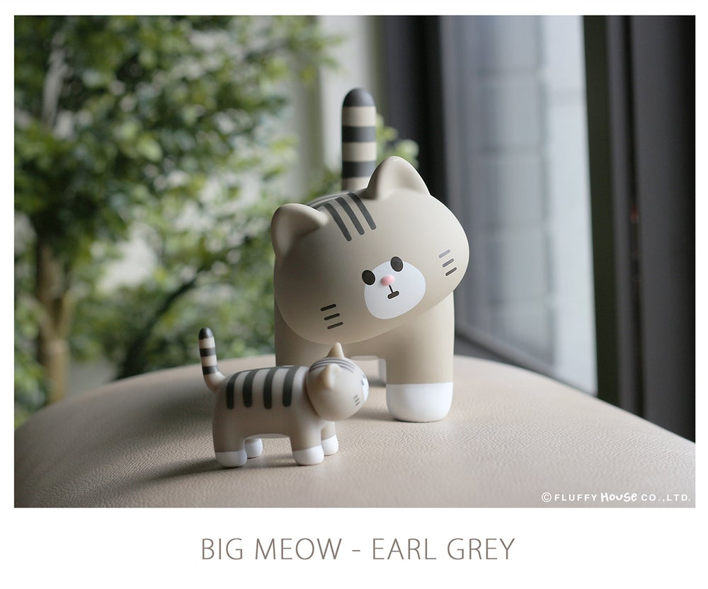 Image of My Home Cat Big MEOW Series - Earl Grey