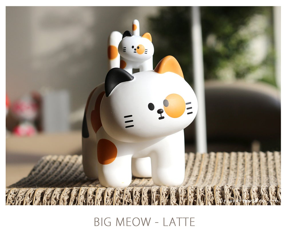Image of My Home Cat Big MEOW Series - Latte