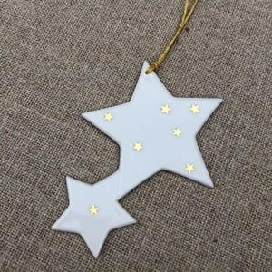 Image of étoile filante à suspendre