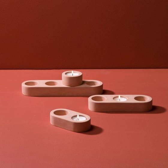 Image of Blok tealight holder (single)