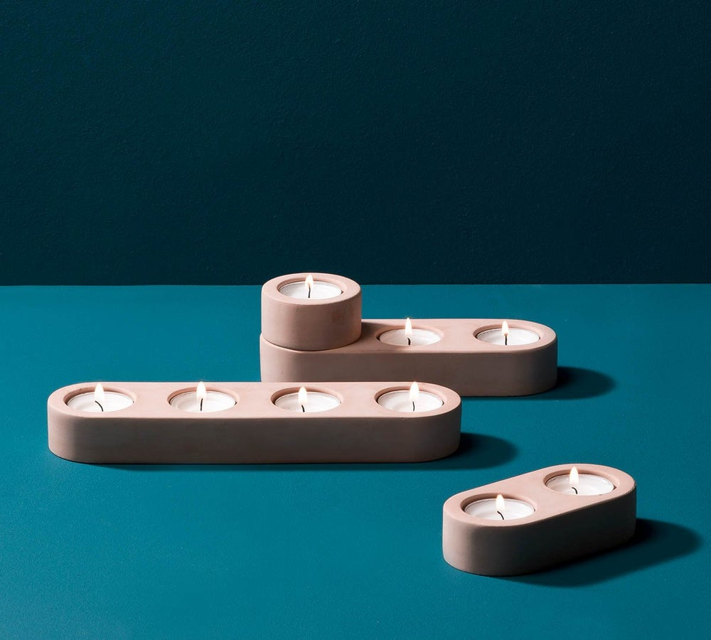 Image of Blok tealight holder (single)