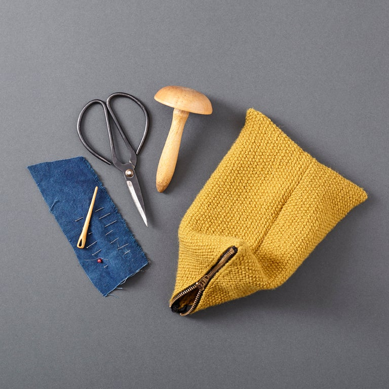 Image of Guernsey Buoyancy Pouch - Textured Yellow
