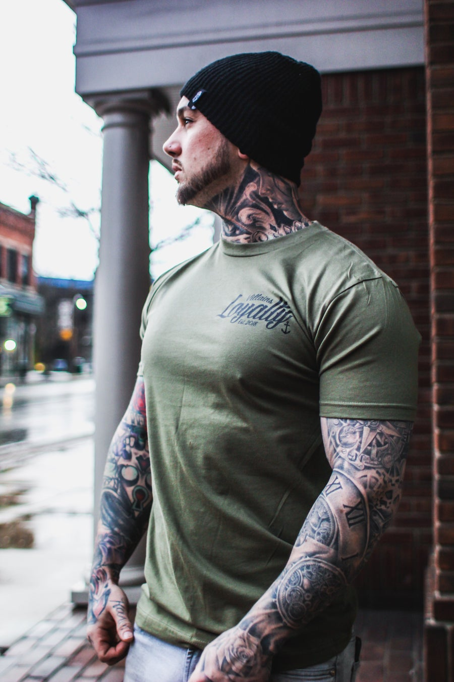 Image of Villains Loyalty military green