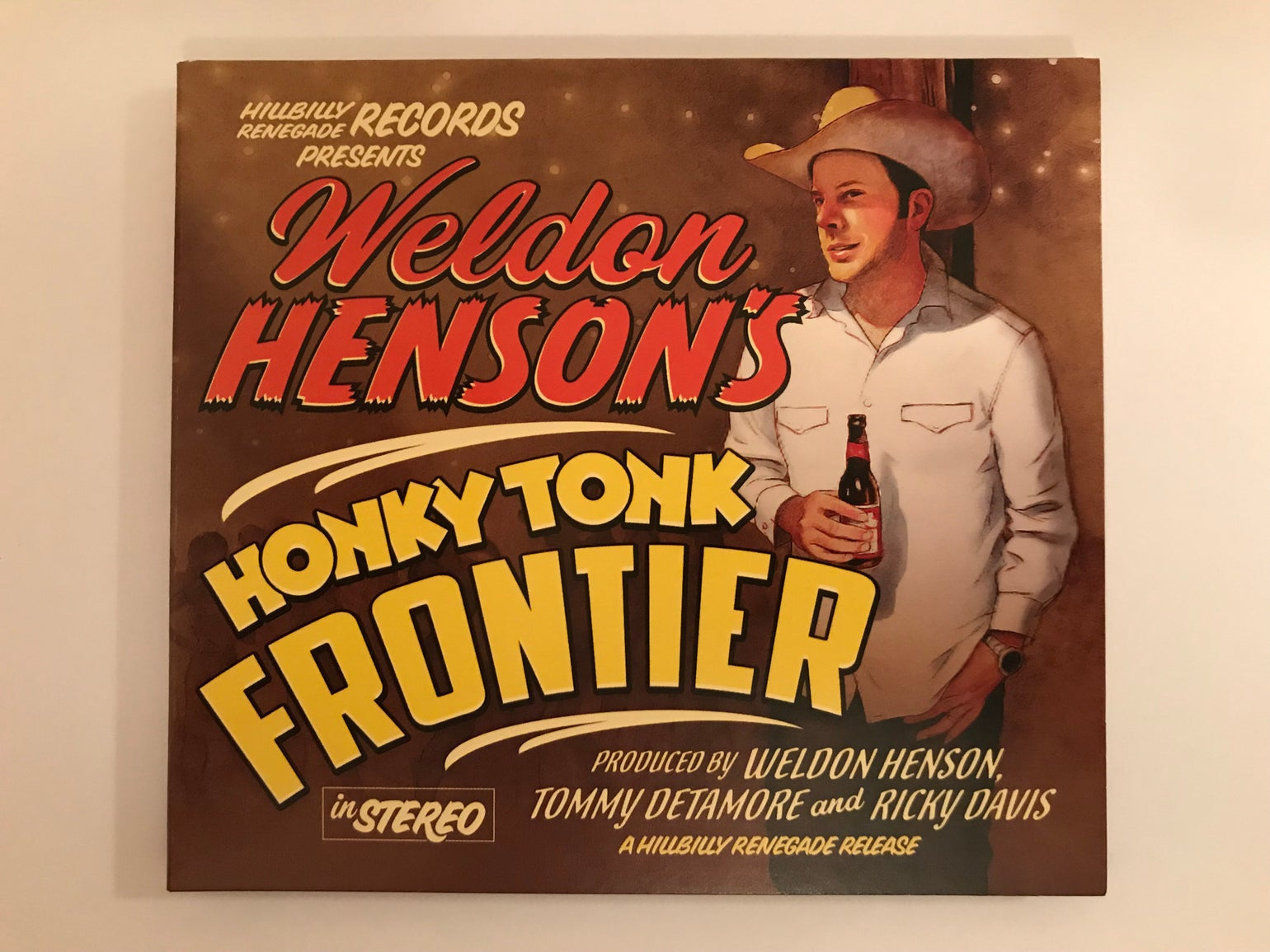 Image of Honky Tonk Frontier - CD