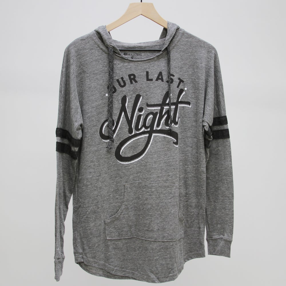 Image of Charcoal Womans Hoodie (Light Grey)