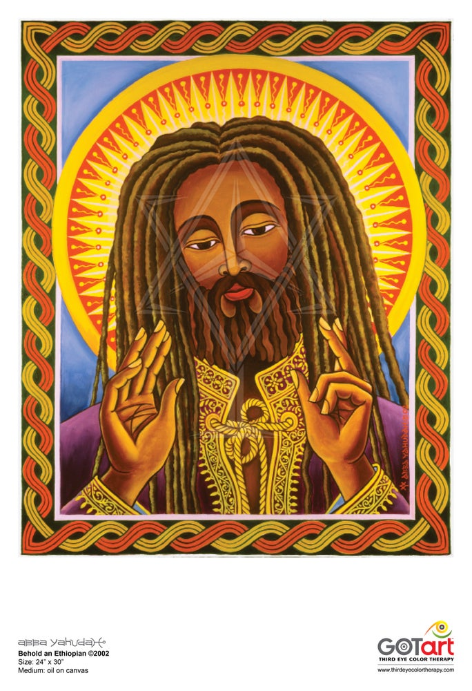 Image of Behold an Ethiopian ©2002 - Poster Print