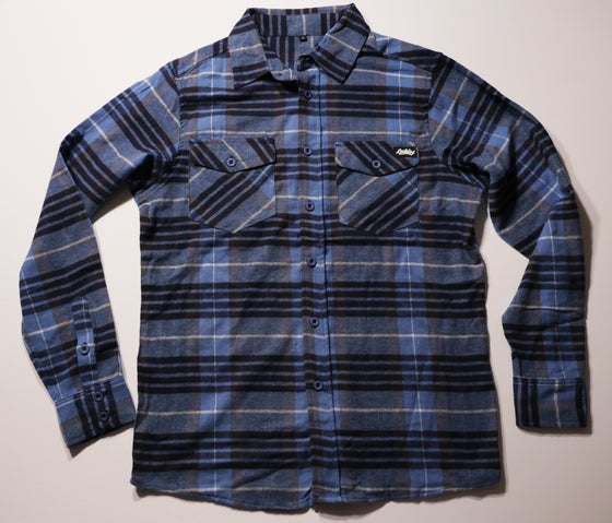 Image of Sunrise Flannel *blue