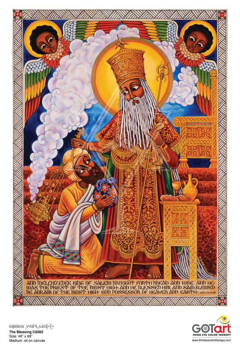 Image of The Blessing ©2002 - Poster Print
