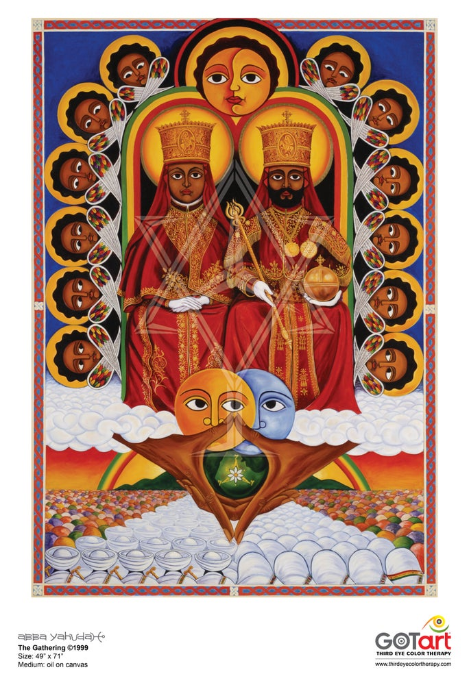 Image of The Gathering ©1999 - Poster Print
