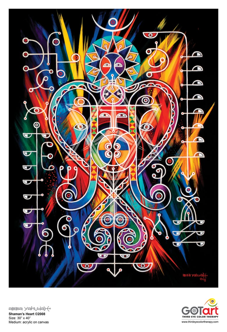 Image of Shaman's Heart ©2008 - Poster Print