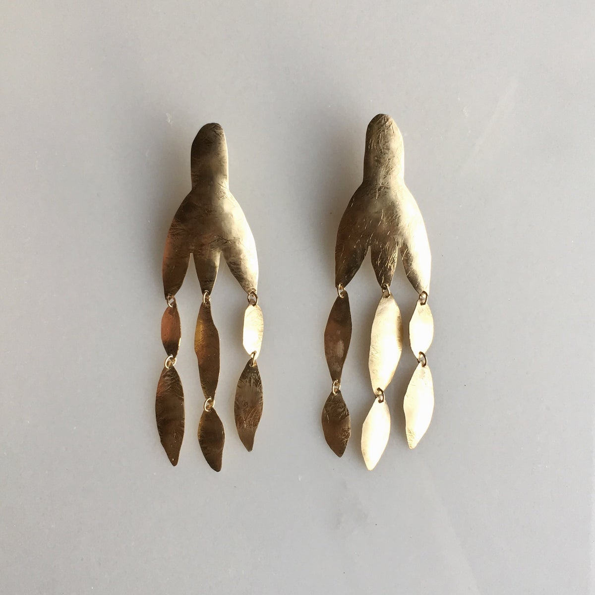 Image of XL duster earring
