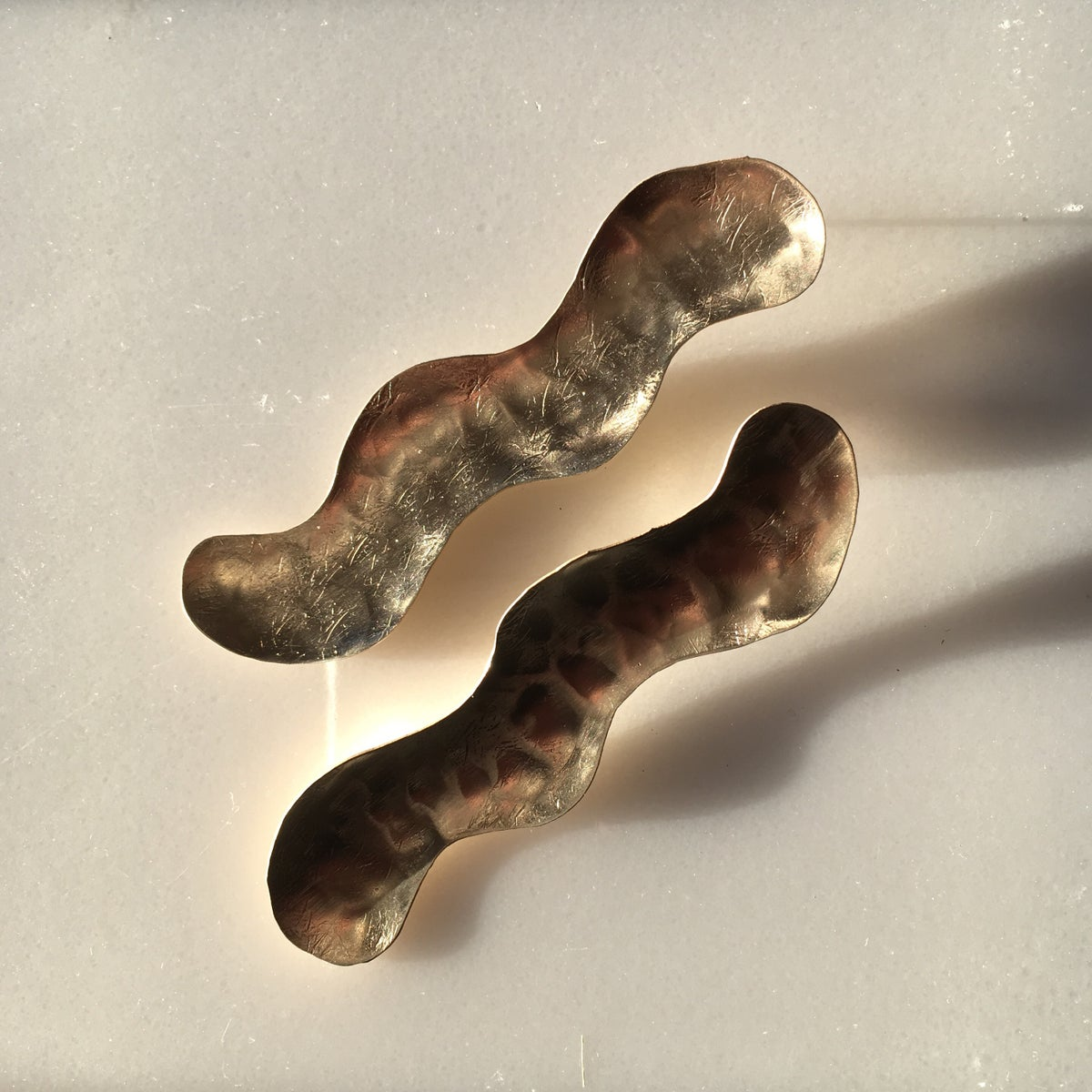 Image of XL snake earring
