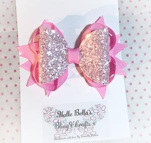 Image of Medium glitter stacker Bow