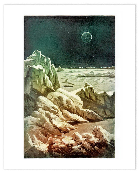 Image of Landscape on the Moon