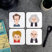 Scottish Character Coasters