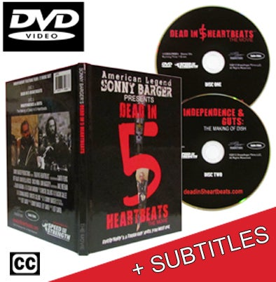 Image of DVD - Dead In 5 Heartbeats