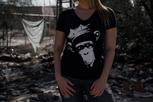 Image of Womens Crown Chimp T-shirt