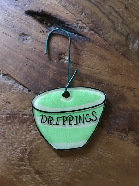 Image of Handmade Drippings Ornament
