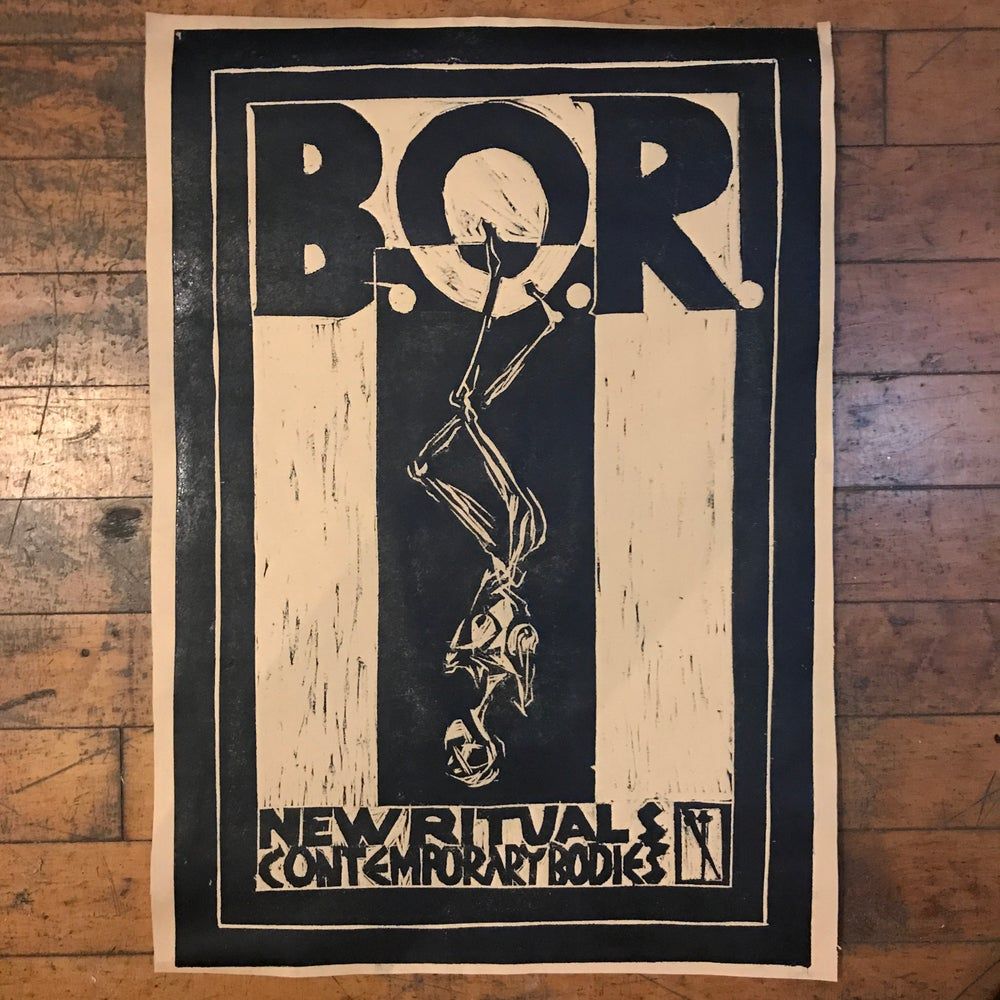 Image of B.O.R. POSTER