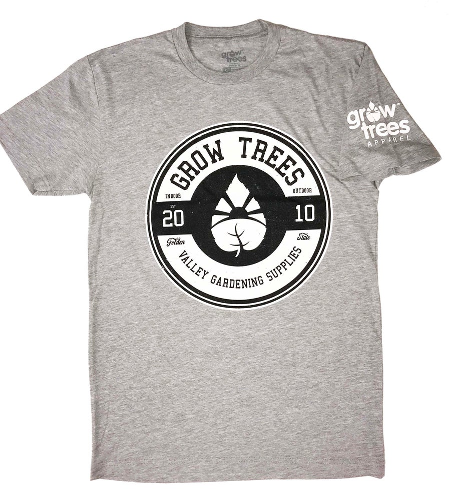 "Image of Grow Trees ""Circle"" T-Shirt (Heather Gray)"