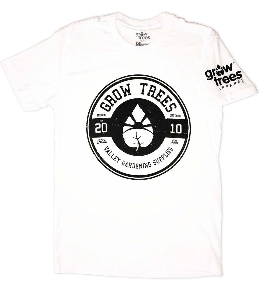 "Image of Grow Trees ""Circle"" T-Shirt (White)"