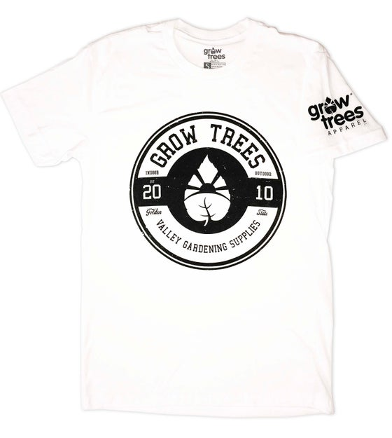 "Image of Grow Trees ""Circle"" T-Shirt (White)"