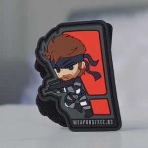 Image of Solid Snake Tactical Morale Patch