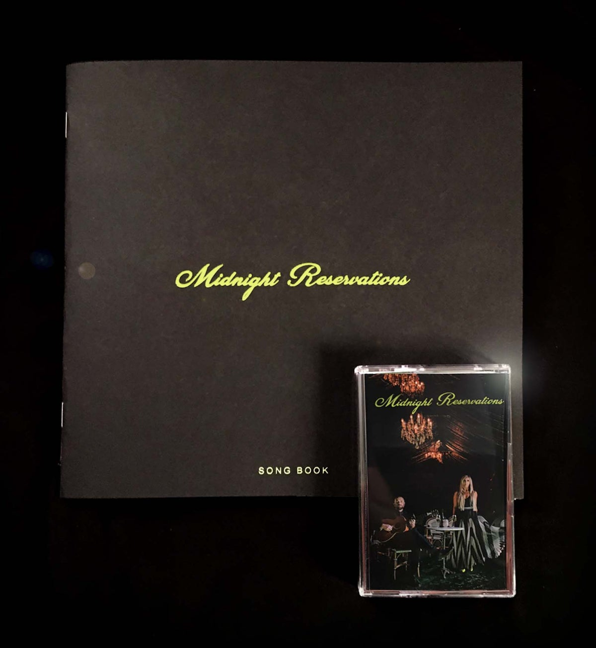 "Image of 8"", 24-Page, Limited Edition photo/song book & Casette"