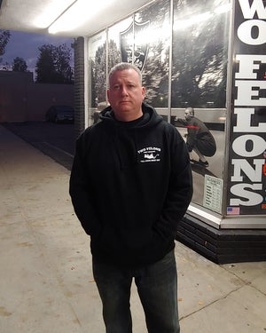 """Image of Two Felons """"Pest Control"""" Pullover Hoody"""