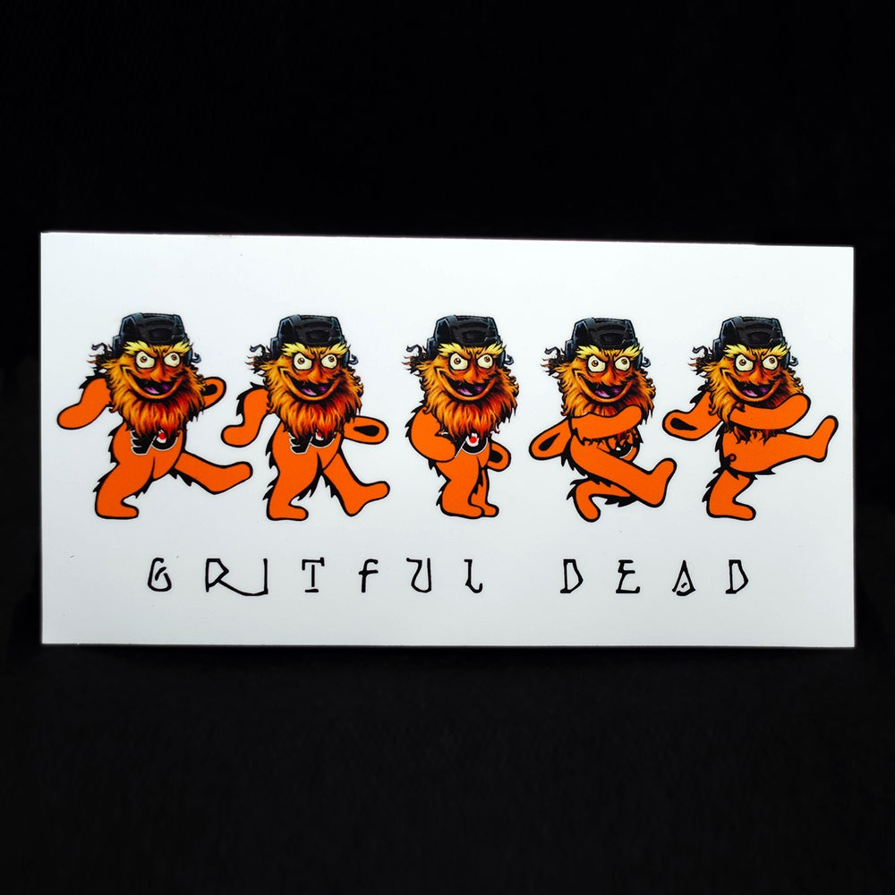 Image of Gritful Dead sticker