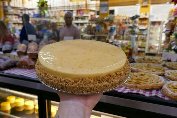 Image of Large lemon tart