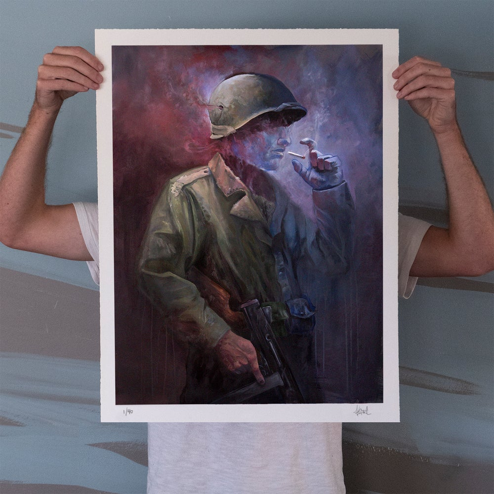 "Image of ""The Last Smoke"" Limited Edition Print"