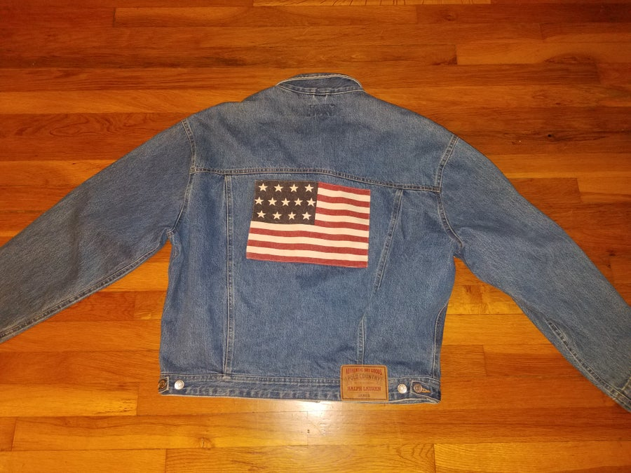 Image of VINTAGE RALPH LAUREN POLO COUNTRY DENIM JACKET