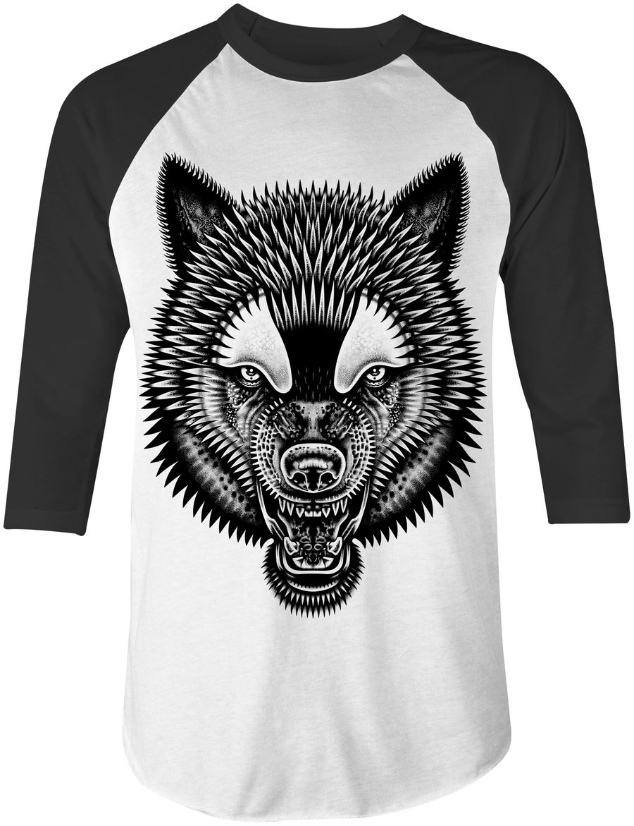 Image of Wolf Baseball Tee