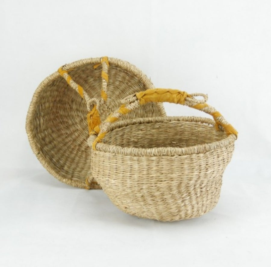 Image of Nautral Seagrass Baskets - medium and large