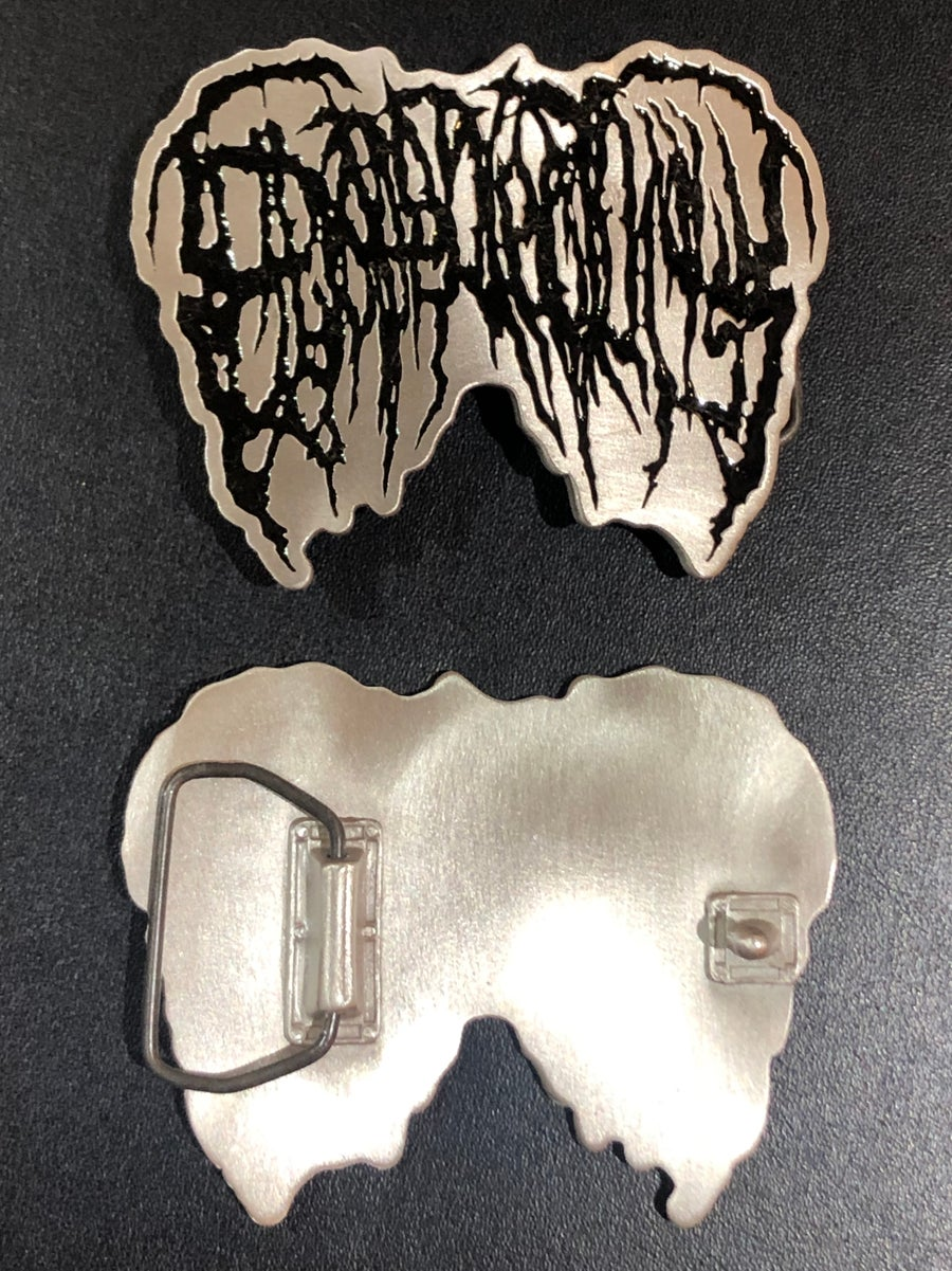 Image of Officially Licensed Epicardiectomy belt buckles!!!