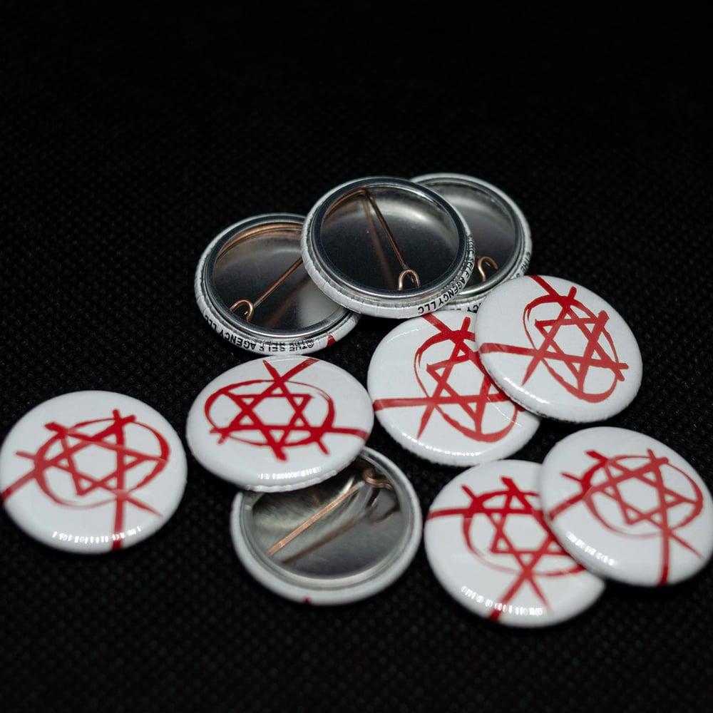 Image of Orthodox Anarchist pin