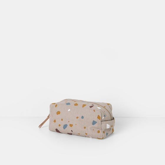 Image of Terrazzo wash bag by Ferm Living