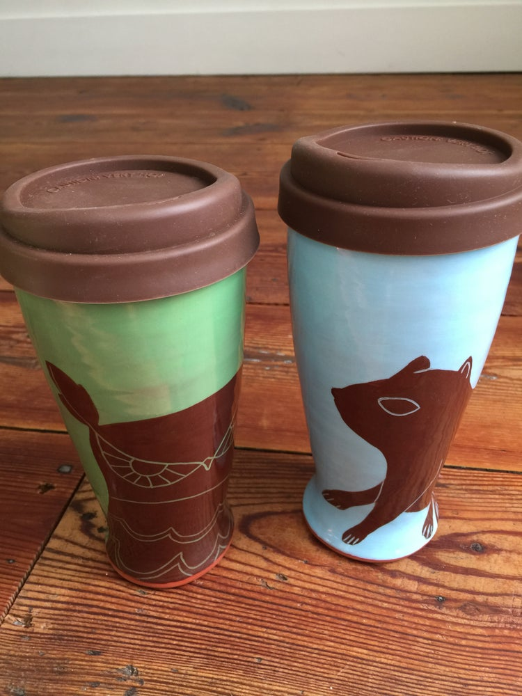 Image of 16 oz Travel Tumbler