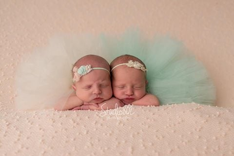Image of Newborn Solid Tutu *Many Colors*