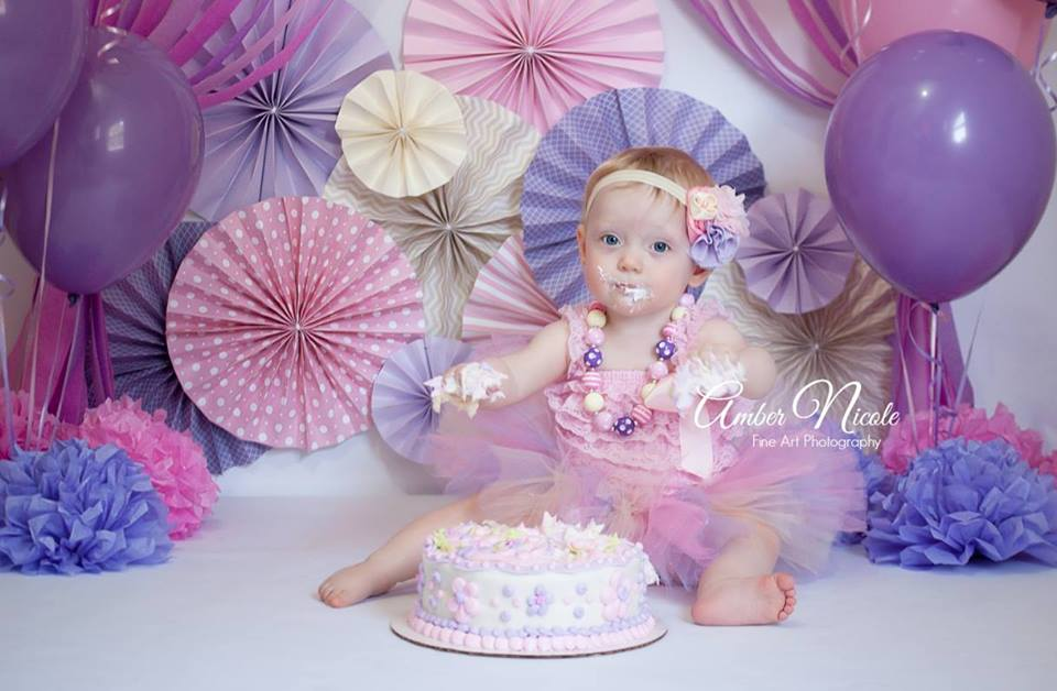 Image of Pink, Ivory and Lavender Tutu, Chunky Necklace and Headband Set